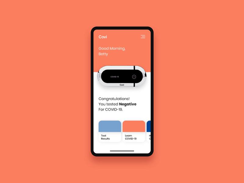 Covi Mobile Application