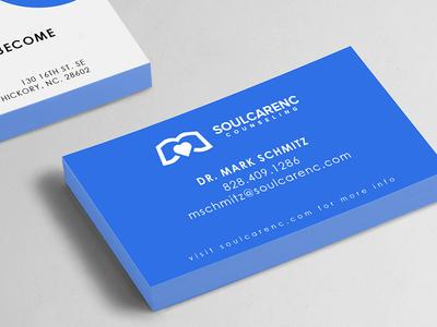 Soul Care NC Business Cards Mockup