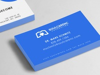 Soul Care NC Business Cards Mockup