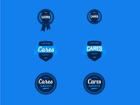 Capture Cares Grants Badges