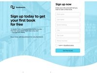 BookWorm Landing Page