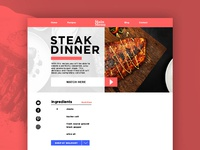 Steak Dinner Recipe