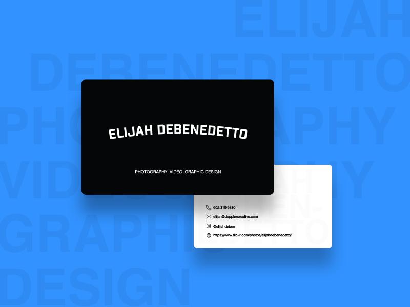 Freelance Business Card photography freelance design freelance designer bw blackandwhite businesscard freelance