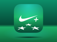 Nike Plus Training App Icon