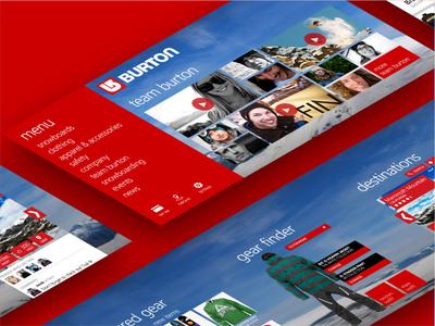 Burton Snowboarding App