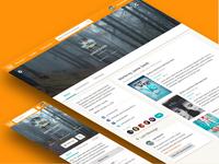 Wattpad Profile Redesign