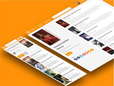 Wattpad Reading Lists Redesign