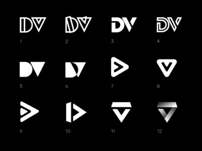 Dance Vocab Logo Concepts