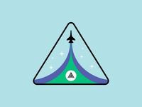 Ascend Sticker Badge