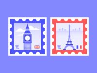 Stamp Sticker Series 01