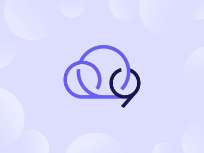 ThoughtSpot on Cloud 9 data analytics anniversary 9 nine cloud logo branding illustration