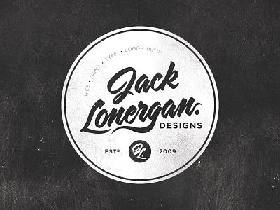 Logo / Badge retro badge jack lonergan designs established logo
