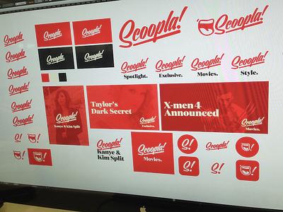 Logo update for platform Rebrand script typeface font logo red
