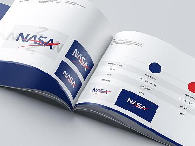NASA: Branding Concept styleguide logo concept design branding nasa