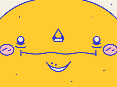 Me when I see el elotero🌽 happy modern color styleframe face illustration vector