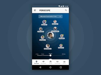 UI Mockup - Layover App ui sketch mockup networks connecting app
