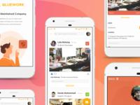 Qluework SaaS App - Redesign