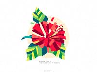 Hibiscus | Bunga Raya