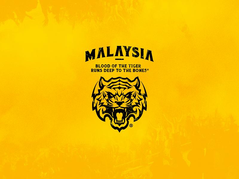 Harimau Malaya emblem badge ultras tiger branding icon logo footballclub soccer malaysia