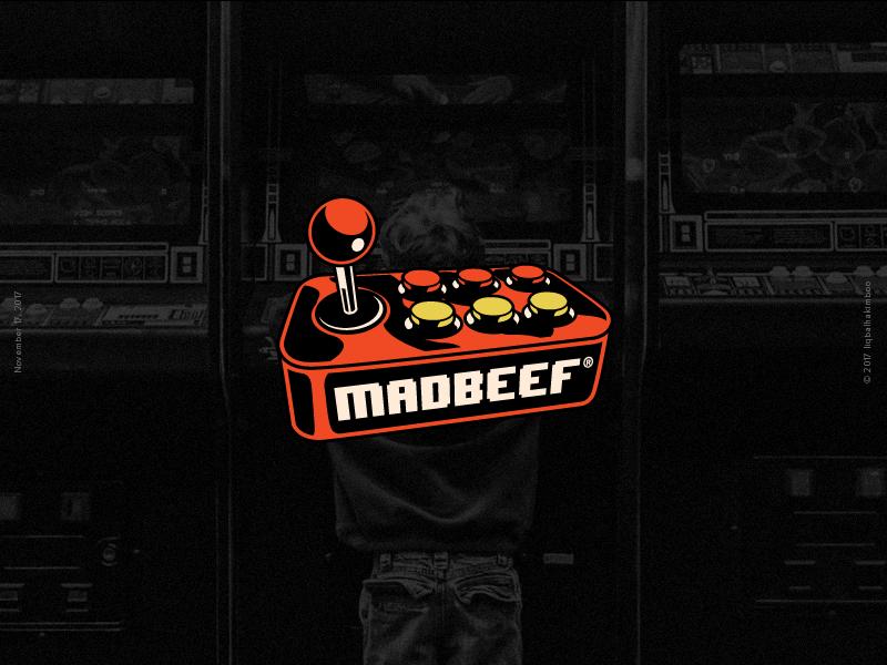 Madbeef Arcade malaysia kualalumpur joystick 90s 80s games arcade vector madbeef madbeefkl