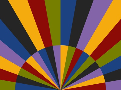 Art geometric paper illustration minimal 2d abstract background pattern flat design geometric
