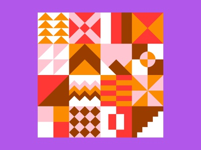 NEO GEO SQUARE PATTERN swiss block design mural download free vector abstract shape square pattern geometric