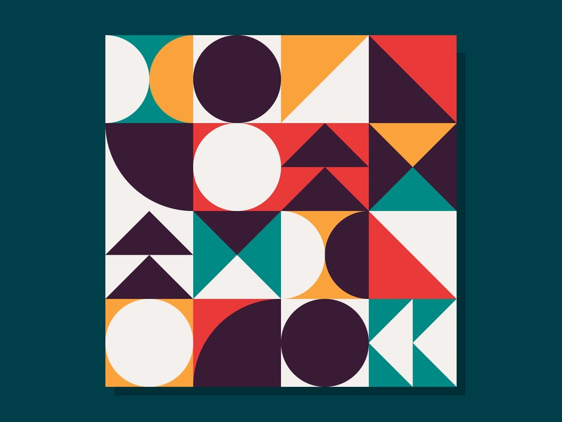 Seamless Geometric Pattern Bundle pattern packaging seamless pattern seamless swiss paper card art clean flat graphic design minimal neo geo bundle adobe illustrator geometric design vector