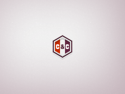 Logo orange purple hexagon cancan