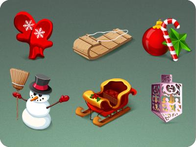 Holiday Stuff icons holiday christmas winter