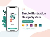 Simple Illustration Design System