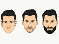Facial hair style