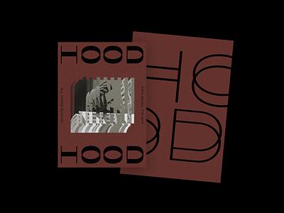 Hood experimental trimmed pattern minimal graphic modernart design typography poster brutalism collageart collage