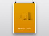 Braun Poster
