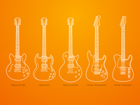 Iconic guitars