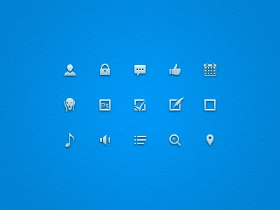 Small Vector Icons icons vector small icons munk icon set ui