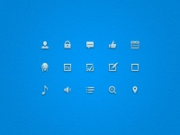 Small Vector Icons