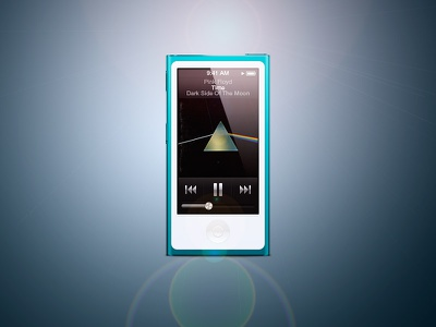 iPod Nano 7th gen [@2x] ipod vector full vector illustration