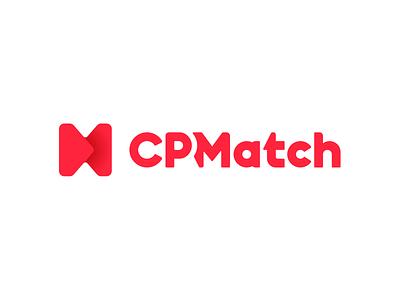 CP Match sketch brand logo branding