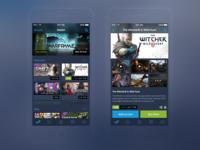 Steam Mobile iOS App - Redesign