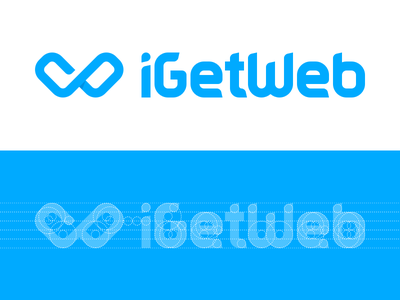 iGetWeb Grid sketchapp branding logotype logo