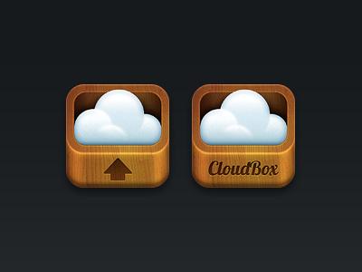 Cloudbox cloud ios icon box