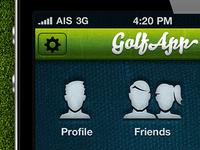Golf App UI