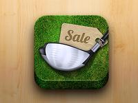 Golf Market App Icon