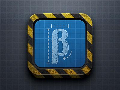 Beta Icon beta icon ios app wireframe construction prototype