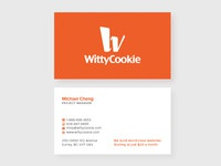 WittyCookie Business Card