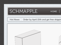 Schmapple - A Site i'm designing