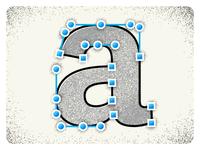 "Illustration of ""a"""