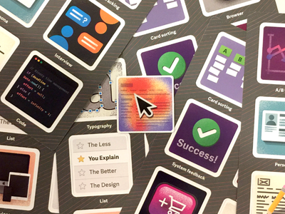 Illustrations for UX Themed Card Game