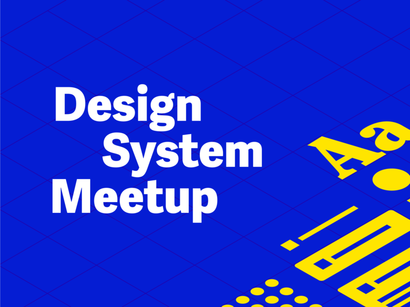 Design System Meetup design system meetup colors vienna color meetup identity poster design system