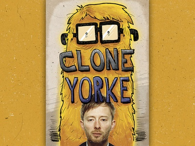 Clone Yorke thom yorke radiohead draw comics bd illustration cover art cover